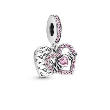 LXBOUTIQUE - Conta Pandora Pendente Coração de Mãe 799402C01