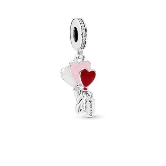 LXBOUTIQUE - Conta PANDORA Pendente Corações em Balões 798076CZ