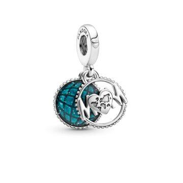 LXBOUTIQUE - Conta Pandora Pendente Melhor Mãe do Mundo 799368C01