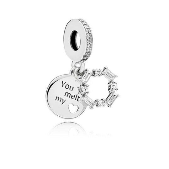 LXBOUTIQUE - Conta PANDORA Pendente You Melt My Heart 797553CZ