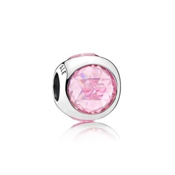 LXBOUTIQUE - Conta PANDORA Radiant Droplet Cor de Rosa 792095PCZ
