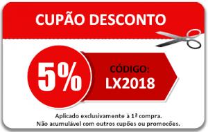 LXBOUTIQUE - Desconto de 5%
