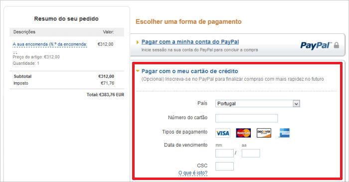 LXBOUTIQUE - Pagar com Cartão de Crédito Sem Ter Conta no PayPal