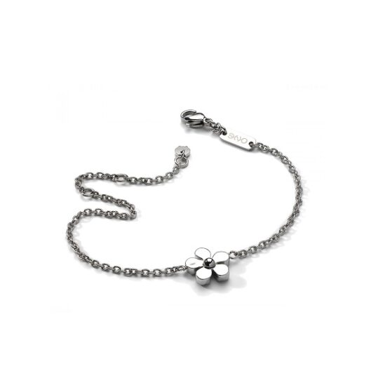 LXBOUTIQUE - Pulseira One Jewels Metal Flowers OJMB01