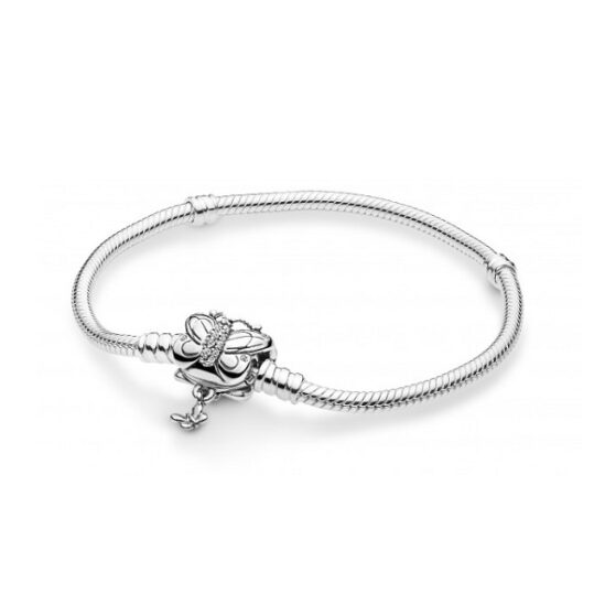 LXBOUTIQUE - Pulseira PANDORA Moments Decorative Butterfly 597929CZ