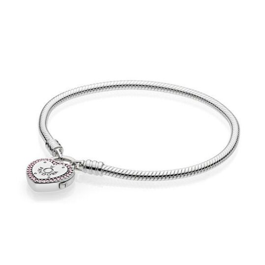 LXBOUTIQUE - Pulseira PANDORA Moments Fecho Cadeado 596586FPC