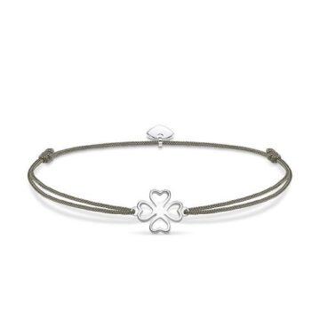 LXBOUTIQUE - Pulseira Thomas Sabo Little Secret Cloverleaf LS017-173-5
