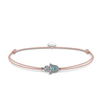 LXBOUTIQUE - Pulseira Thomas Sabo Little Secrets Hand of Fátima LZ023-905-19