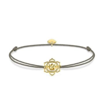 LXBOUTIQUE - Pulseira Thomas Sabo Little Secret Lotus Flower LS014-379-5