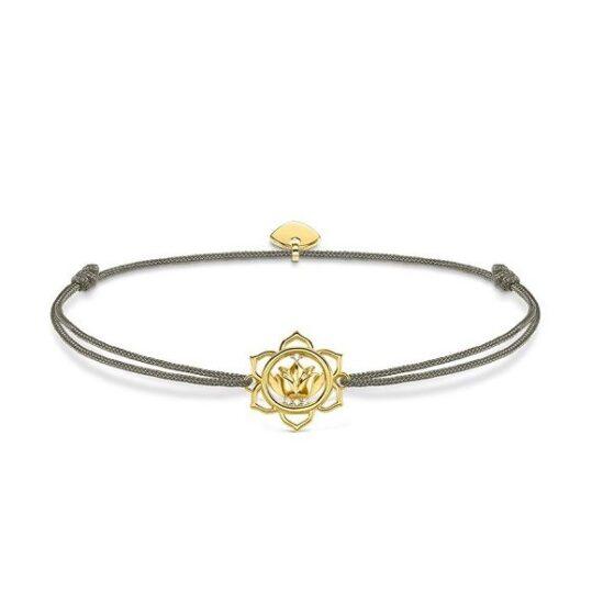 LXBOUTIQUE - Pulseira Thomas Sabo Little Secret Lotus Flower LS014-379-5