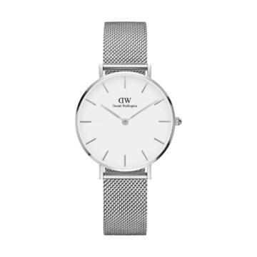 LXBOUTIQUE - Relógio Daniel Wellington Classic Petite White Sterling DW00100164