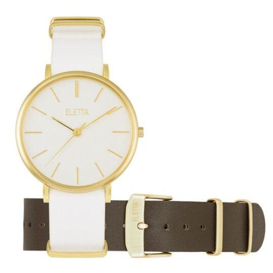 LXBOUTIQUE - Relógio Eletta City Gold ELA530LBBG