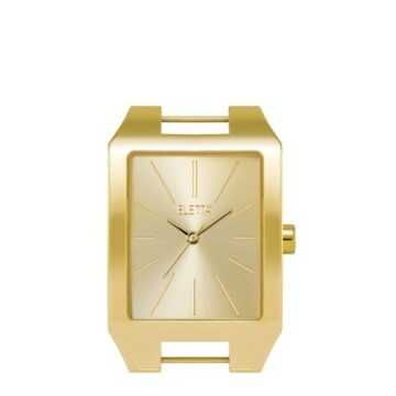 LXBOUTIQUE - Relógio Eletta Icon Square Gold ELA555LC-G