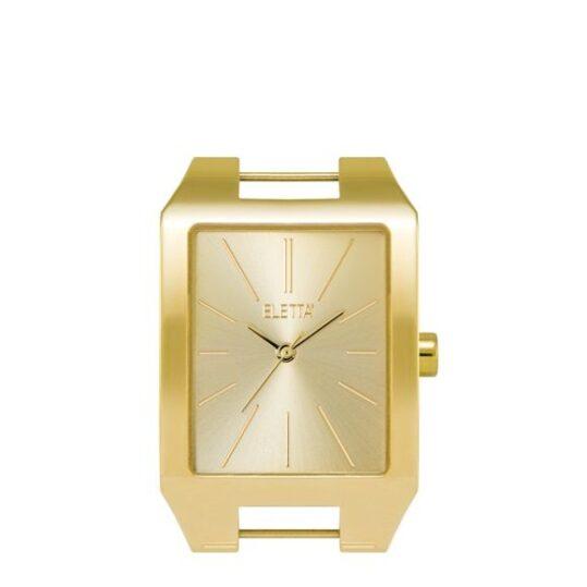 LXBOUTIQUE - Relógio Eletta Icon Square Gold ELA555LC-G