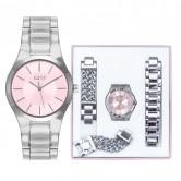 LXBOUTIQUE - Relógio Eletta Kit Icon - Completo - ELA550LRMSX