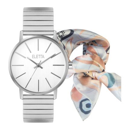 LXBOUTIQUE - Relógio Eletta Tribute Gift Set ELA610LBMS