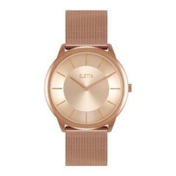 LXBOUTIQUE - Relógio Eletta Design Rose ELA310LRMR