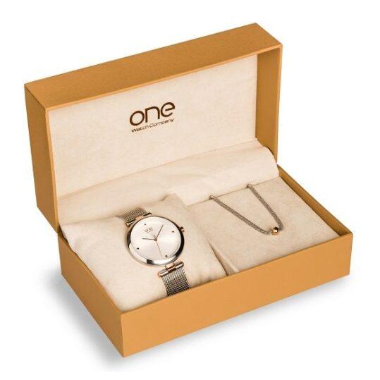 LXBOUTIQUE - Relógio One Classy Box OL7218WA71L