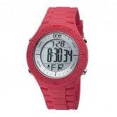 LXBOUTIQUE - Relógio One Colors Bulky Vermelho OA2028MM62T