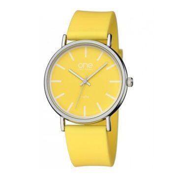 LXBOUTIQUE - Relógio One Colors Pale Amarelo OM1886AO81P
