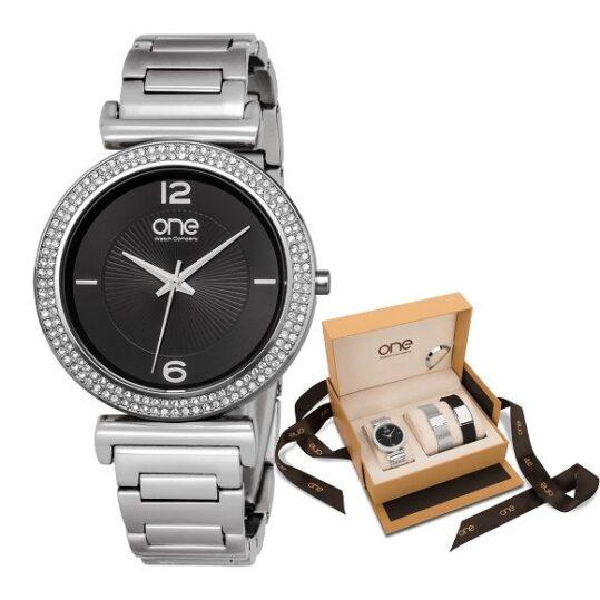 LXBOUTIQUE - Relógio One Delight Black Box OL6515IC71L