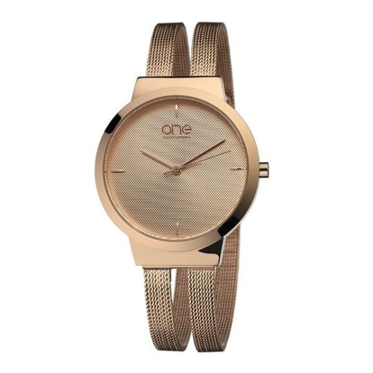 LXBOUTIQUE - Relógio One Dual Rosegold OL7617RR72L
