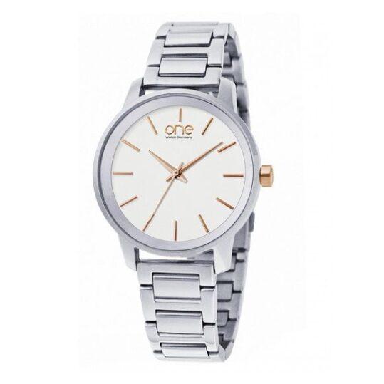 LXBOUTIQUE - Relógio One Flair Prateado OL6570RS72L