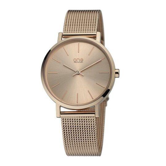 LXBOUTIQUE - Relógio One Joy Dourado Rosa OL1336RG62P