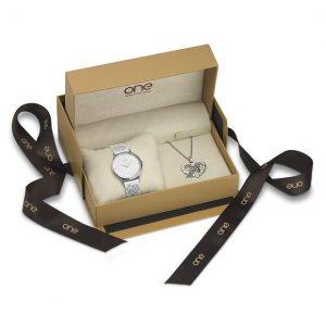 LXBOUTIQUE - Relógio One Love Box Dia dos Namorados OL7770IC81L - Imagem da Box