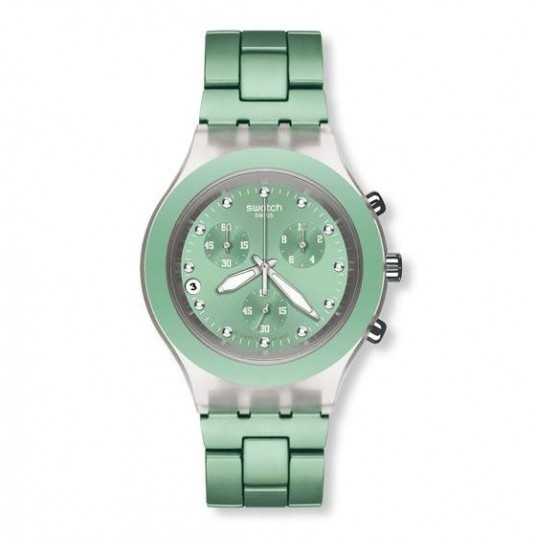 LXBOUTIQUE - Relógio Swatch Full Blooded Mint SVCK4056AG