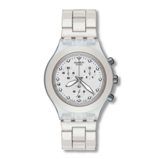 LXBOUTIQUE - Relógio Swatch Full Blooded White SVCK4045AG