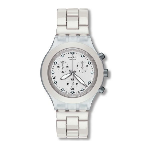 67b38396ab4 LXBOUTIQUE - Relógio Swatch Full Blooded White SVCK4045AG. LXBOUTIQUE - Relógio  Swatch Full Blooded White SVCK4045AG