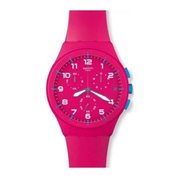 LXBOUTIQUE - Relógio Swatch Pink Frame SUSR401