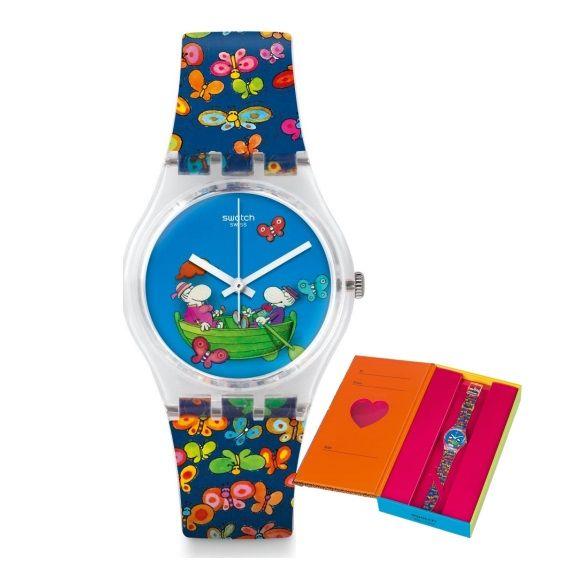 05c390c4646 LXBOUTIQUE - Relógio Swatch Planet of Love GZ307S. LXBOUTIQUE - Relógio  Swatch Planet of Love GZ307S