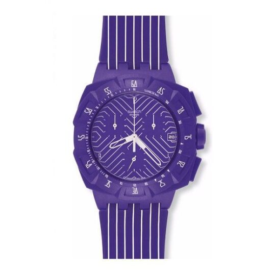 LXBOUTIQUE - Relógio Swatch Purple Run SUIV401