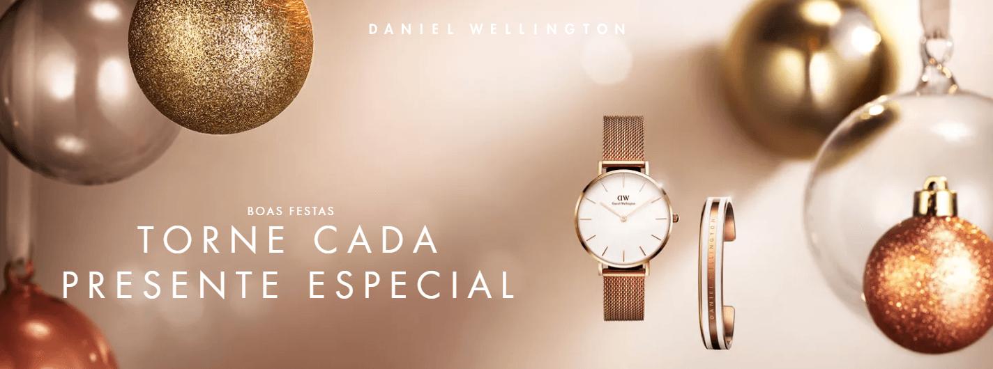 LXBOUTIQUE - Relógios Daniel Wellington - Natal 2018 - Slider Imagem 1