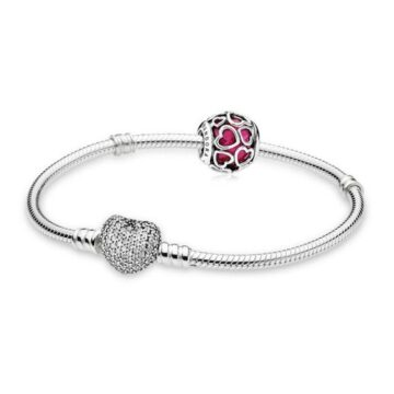 LXBOUTIQUE - Set PANDORA Wonders Of The Heart B800380